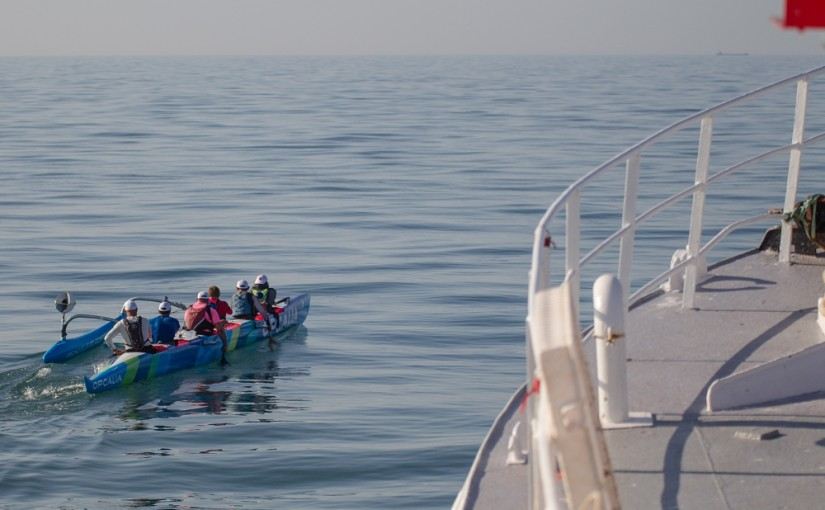 1ère Traversée de la Manche en Pirogue
