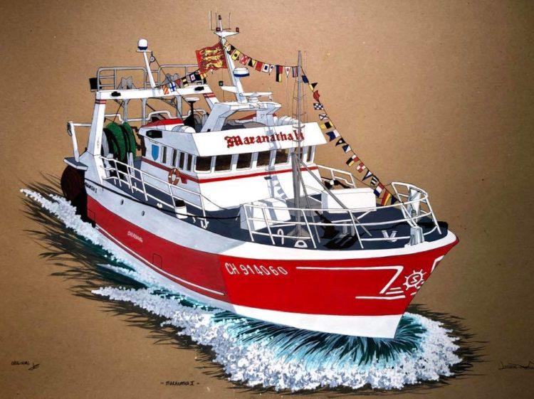 Armement Cherbourgeois bateau